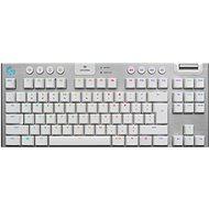 Logitech G915 LIGHTSPEED TKL GL Tactile, bílá - US INTL - Herní klávesnice
