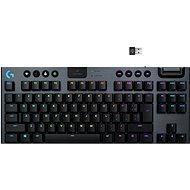 Herní klávesnice Logitech G915 LIGHTSPEED TKL Wireless RGB GL Tactile, carbon - US INTL