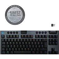 Logitech G915 LIGHTSPEED TKL Wireless RGB GL Linear , carbon - US INTL - Herní klávesnice
