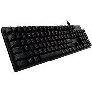 Logitech G512 Carbon Lightsync, GX Brown- CZ/SK - Herní klávesnice