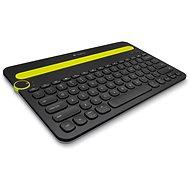 Logitech Bluetooth Multi-Device Keyboard K480 CZ černá - Klávesnice