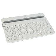 Logitech Bluetooth Multi-Device Keyboard K480 US bílá - Klávesnice