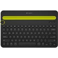 Logitech Bluetooth MultiDev KBD K480 DE Black - Klávesnice