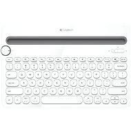 Logitech Bluetooth MultiDev KBD K480 DE White - Klávesnice