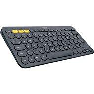 Logitech Bluetooth Multi-Device Keyboard K380, temně šedá - US INTL - Klávesnice
