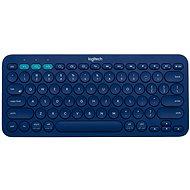 Logitech Bluetooth Multi-Device Keyboard K380 modrá - Klávesnice