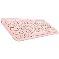 Logitech Bluetooth Multi-Device Keyboard K380 pro Mac, růžová - US INTL - Klávesnice