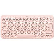 Logitech Bluetooth Multi-Device Keyboard K380 pro Mac, růžová - CZ+SK - Klávesnice