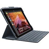 Logitech Slim Folio černé (UK) - Pouzdro s klávesnicí na tablet