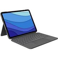 """Logitech Combo Touch pro iPad Pro 11"""" (1., 2. a 3. gen), šedá - UK - Klávesnice"""