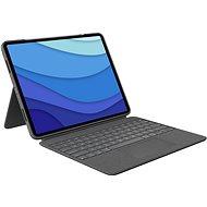 """Logitech Combo Touch pro iPad Pro 12.9"""" (5. generace), šedá - UK - Klávesnice"""
