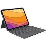 Logitech Combo Touch pro iPad Air (4. gen), šedá - UK - Klávesnice
