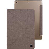 Uniq Yorker Kanvas iPad 9.7 French Beige - Pouzdro na tablet