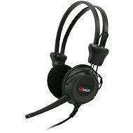 C-TECH MHS-02 černé - Sluchátka
