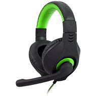 C-TECH NEMESIS V2 GHS-14 (černo-zelená) - Herní sluchátka