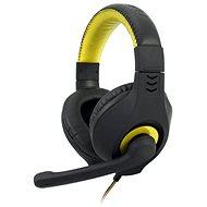 C-TECH NEMESIS V2 GHS-14 (černo-žlutá) - Herní sluchátka