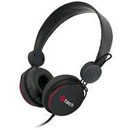 C-TECH AHS-07, černá - Herní sluchátka