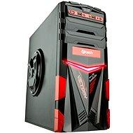 C-TECH ARES černo-červená - Počítačová skříň