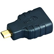 Gembird HDMI A(F) --> micro HDMI(M), gold-plated connectors - Adapter