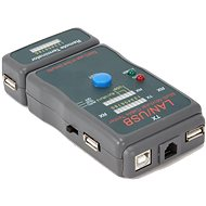 Gembird NCT-2 Ethernet kabel tester pro UTP, STP, USB - Tester