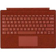 Microsoft Surface Pro Type Cover Poppy Red CZ/SK - Klávesnice