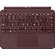 Microsoft Surface Go Type Cover Burgundy - US - Klávesnice