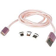 MCX 014 rosegold + pouzdro EVA - Datový kabel