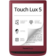PocketBook 628 Touch Lux 5 Ruby Red - Elektronická čtečka knih