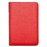 PocketBook DOTS červeno - šedé - Pouzdro na čtečku knih