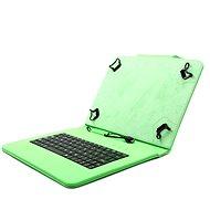 C-TECH PROTECT NUTKC-01 zelené - Pouzdro s klávesnicí na tablet