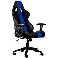 C-TECH PHOBOS černo-modrá - Herní židle