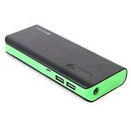 Omega 8000mAh černo-zelený - Power Bank