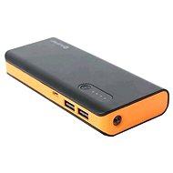 Omega 8000mAh černo-oranžový - Powerbanka
