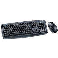 Genius KM-130 CZ+SK - Set klávesnice a myši