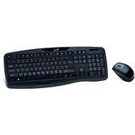 Genius KB-8000X CZ+SK černý - Set klávesnice a myši