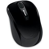 Microsoft Wireless Mobile Mouse 3500 Black - Myš