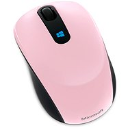 Microsoft Sculpt Mobile Mouse Wireless, růžová - Myš