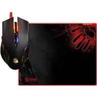 A4tech Bloody Neon XGlide Q5081S set myši Q50 + podložka B-081S - Herní myš