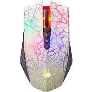 A4tech Bloody A60 Blazing V-Track Core 2 bílá - Herní myš