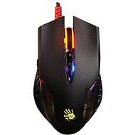 A4tech Bloody Q50 Neon XGlide - Herní myš