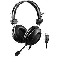 A4tech HU-35 USB černá - Herní sluchátka