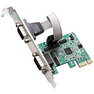 EVOLVEO 2x Serial 232 PCIe, rozšiřující karta - Rozšiřující karta