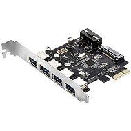 EVOLVEO 4x USB 3.2 Gen 1 PCIe, rozšiřující karta - Rozšiřující karta