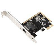 EVOLVEO PCIe Gigabit Ethernet Card 10/100/1000 Mbps, rozšiřující karta - Síťová karta