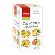 Apotheke PREMIER Ginger-Citrus Teas 4-in-1 4 x 5 x 2g - Tea