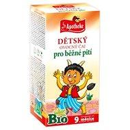 Apotheke DĚTSKÝ ČAJ BIO Ovocný 20x2g - Dětský čaj