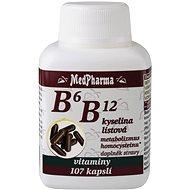 B6 B12 + Folic Acid - 107 Tablets - Vitamin B