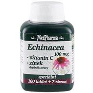 MedPharma Echinacea 100 mg + Vitamin C + Zinek - 107 tbl.
