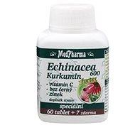 MedPharma Echinacea 600 Forte + kurkumin - 67 tbl.