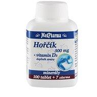 MedPharma Hořčík 300 mg + Vitamin D - 107 tbl. - Hořčík